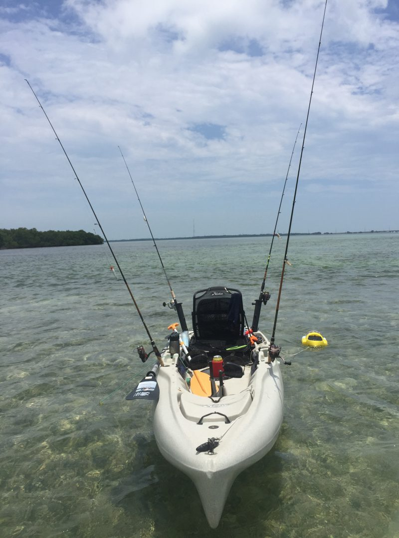 Day one of four perfect days kayak fishing in the florida for Kayak fishing florida
