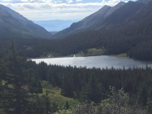North Fork Reservoir Below Island Lake