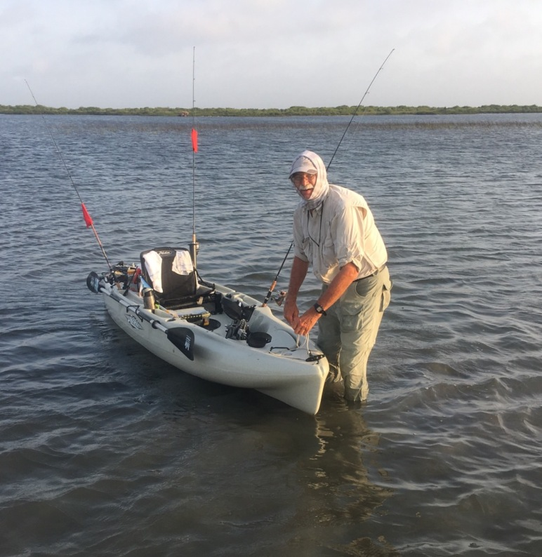 Kayak fishing the texas paddling trail out of port o for Port o connor fishing